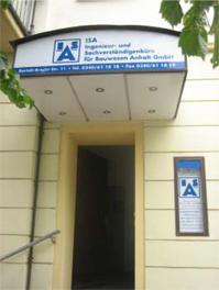 Büroeingang