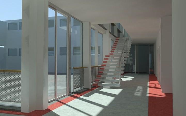 Entwurf Treppe Ratke Schule