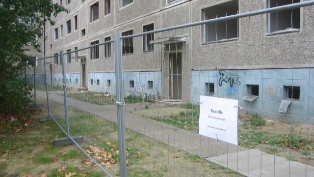 Wolfen | Abbrucharbeiten Wolfen-Nord